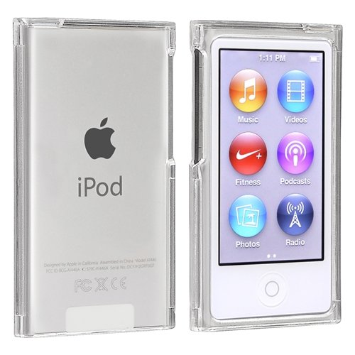 snap on slim case compatible with apple ipod nano 7th. Black Bedroom Furniture Sets. Home Design Ideas