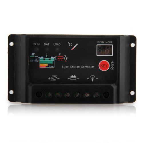 regulateur controleur controller de charge panneau panel solaire 20a 12 24v wt ebay. Black Bedroom Furniture Sets. Home Design Ideas