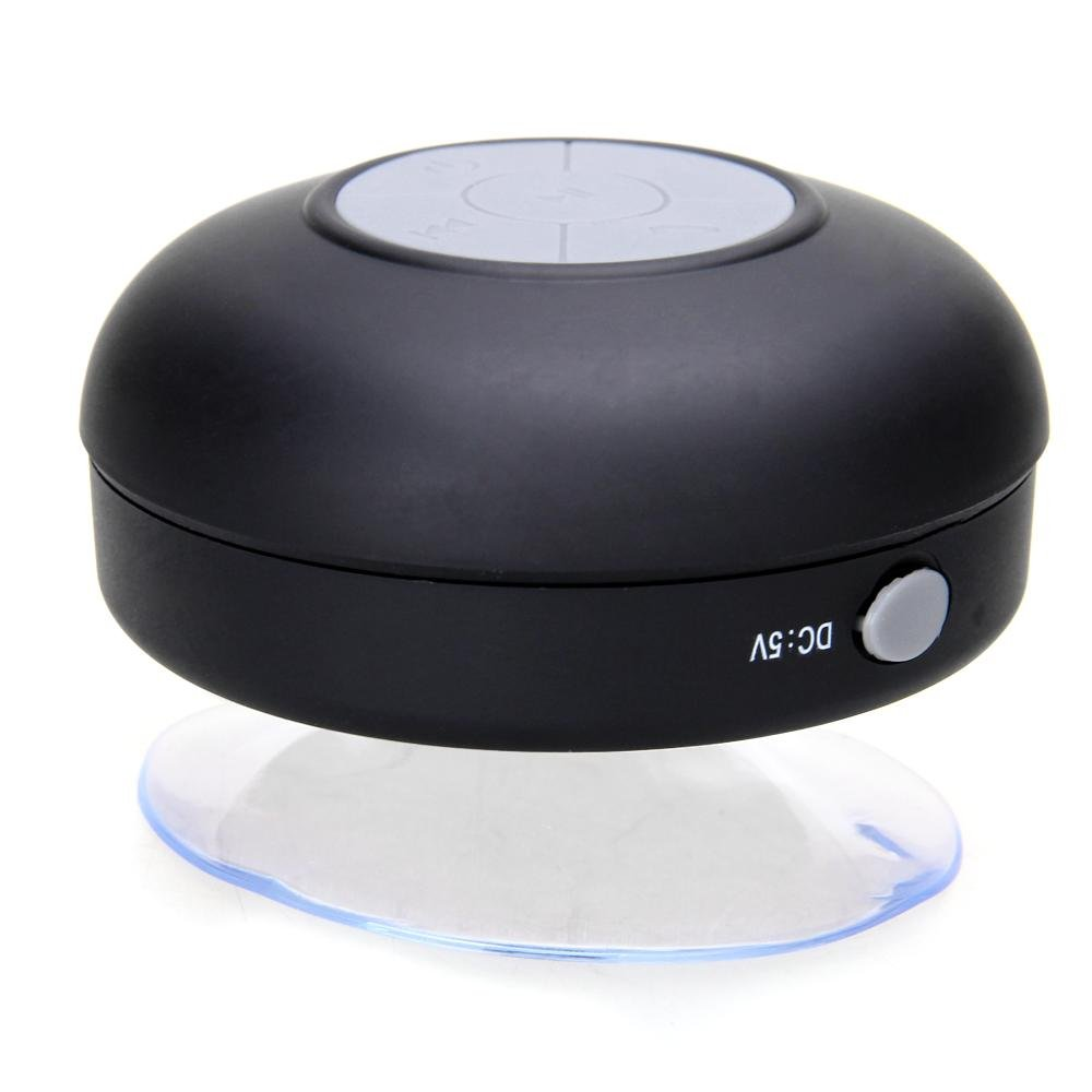 Round Waterproof Wireless Bluetooth Shower Speaker Handsfree For IPhone 6 MJ