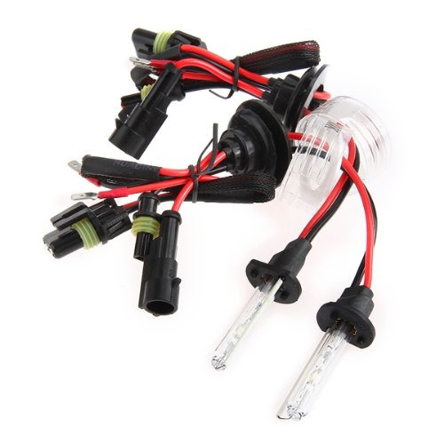 1 paar auto hid xenon lampen lichter h1 35w 6000k 3000lm for Lampen 6000 kelvin
