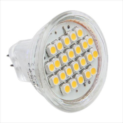 10 gu4 mr11 lamp bulb 24 smd led warm white 3600k kl ebay. Black Bedroom Furniture Sets. Home Design Ideas