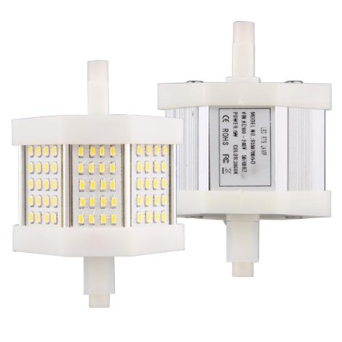 r7s ampoule spot dimmable 3014 smd 60 leds blanc chaud. Black Bedroom Furniture Sets. Home Design Ideas