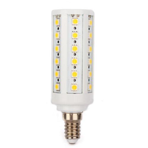 Sodial r e14 9w 44 led 5050 smd lampe ampoule 3000k - Ampoule lumiere blanche ...
