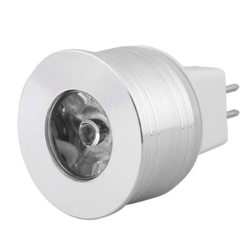 mr11 gu4 3w high power led spotlight bulb light warm white 12v pk ebay. Black Bedroom Furniture Sets. Home Design Ideas