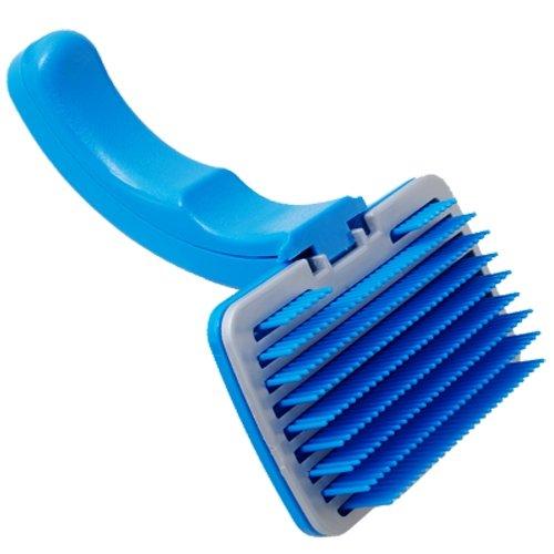 Perro gato cepillo plastico nuevo para quitar de pelo ac ebay - Quitar gotele plastico ...