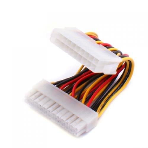 24 pin female to 20 male atx power adapter cable a3w8 ebay Dual 20 Pin Wire Harness 24 pin motherboard when only 20 pin power supply is available make your ordinary atx power supply work for server dual xeon socket 775 motherboard dual 20 pin wire harness