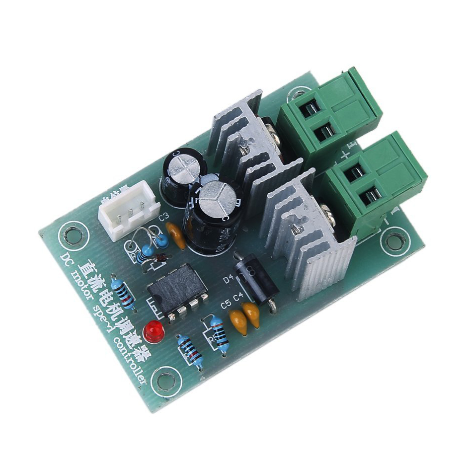 Dc 12v 36v 5a motor speed control pwm controller sy ebay for Two speed motor control