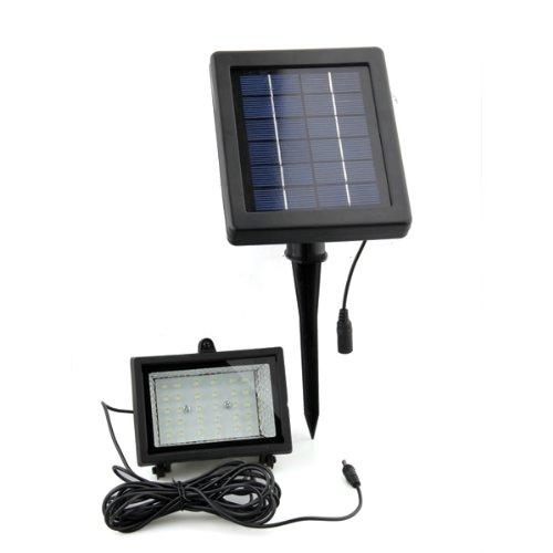 Etanche exterieur energie solaire blanche 30 led for Lampe exterieur etanche