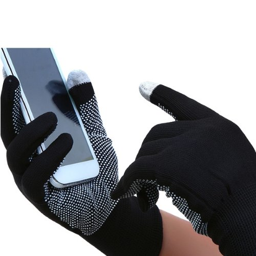 5x( Pair Gloves Acrylic Silicone Digital Touch Screen Mobile Winter BT