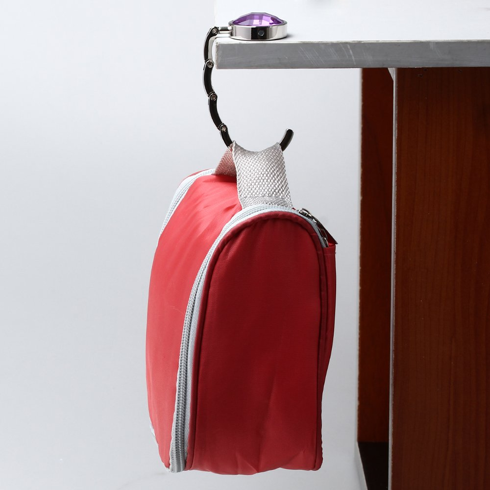 fold up purse hook The hook and go folding shopping you will love the ergonomic tilt design of the hook and go shopping cart it is light and very convenient to fold up.