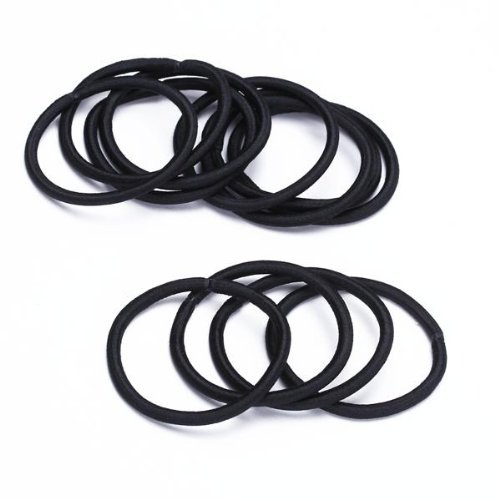 12pcs Women Elastic Hair Tie Band Rope Ring Ponytail Holder Nylon ... a6e620bae98