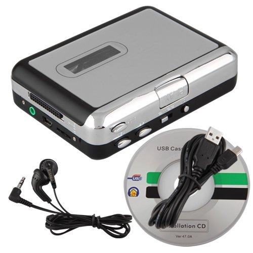 kassette zu mp3 pc umwandler konverter usb kassettenplayer. Black Bedroom Furniture Sets. Home Design Ideas