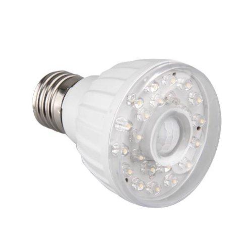 Bombilla lampara e27 23 led sensor detector movimiento - Detector movimiento luz ...