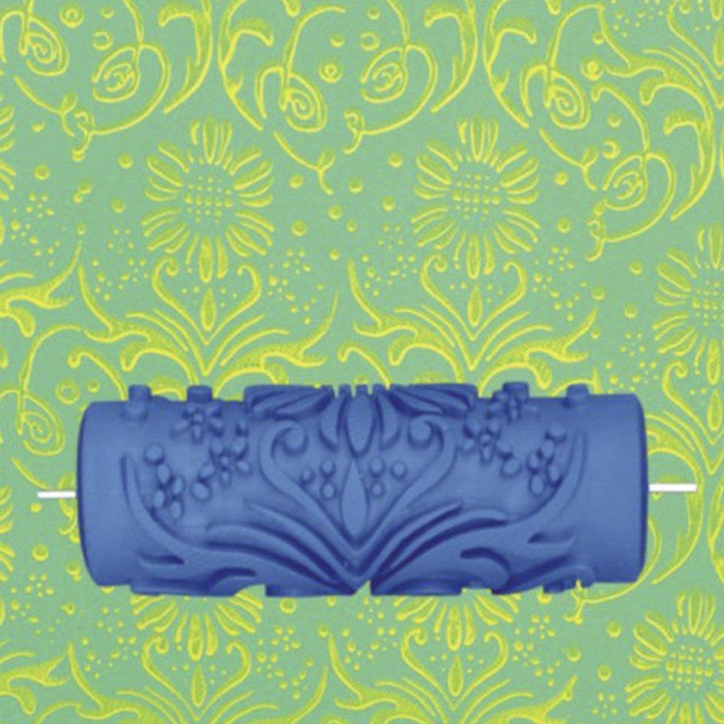 3x 15 cm wand dekoration blumen muster empaistic malerei - Dekoration fur die wand ...