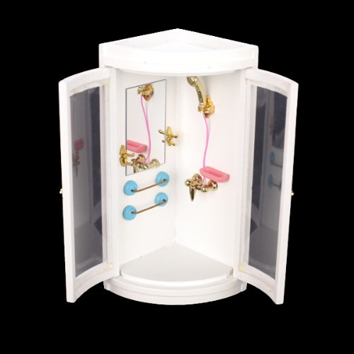 Popular Miniature Rack With Mini Bathroom Supplies Suitable For Your Dollhouse