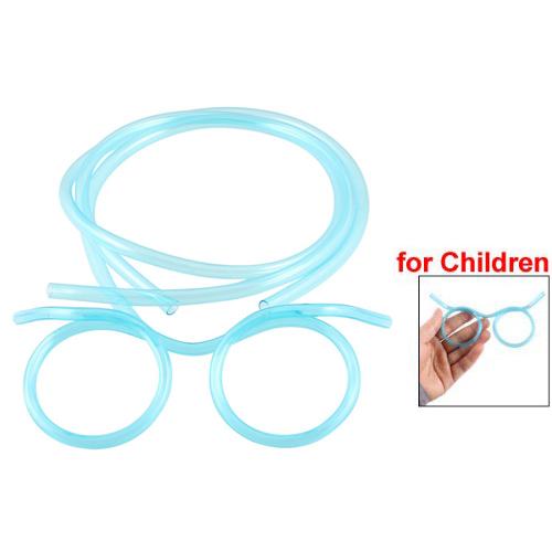 10X(ear Blue Plastic Drinking Straw Glasses Eyeglasses for ...