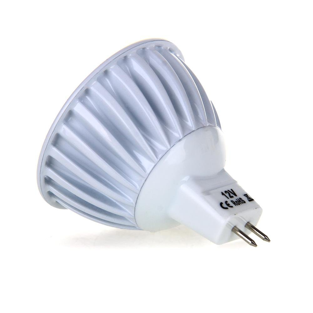 Gu5 3 Mr16 6w Cob Led Lamp Spot Light Bulb Light Bulb 420lm 60 3000k Wa F8j Ebay
