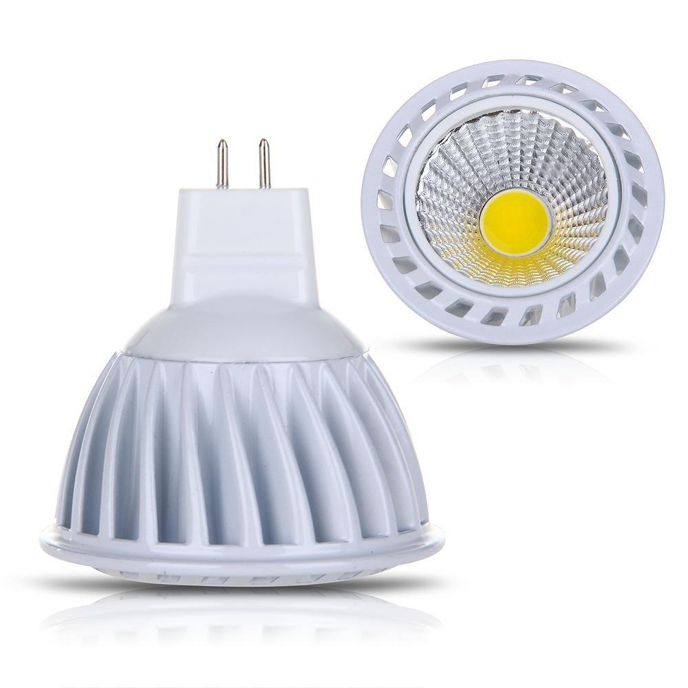 gu5 3 mr16 4w cob led lamp spot light bulbs 280lm 3000k. Black Bedroom Furniture Sets. Home Design Ideas