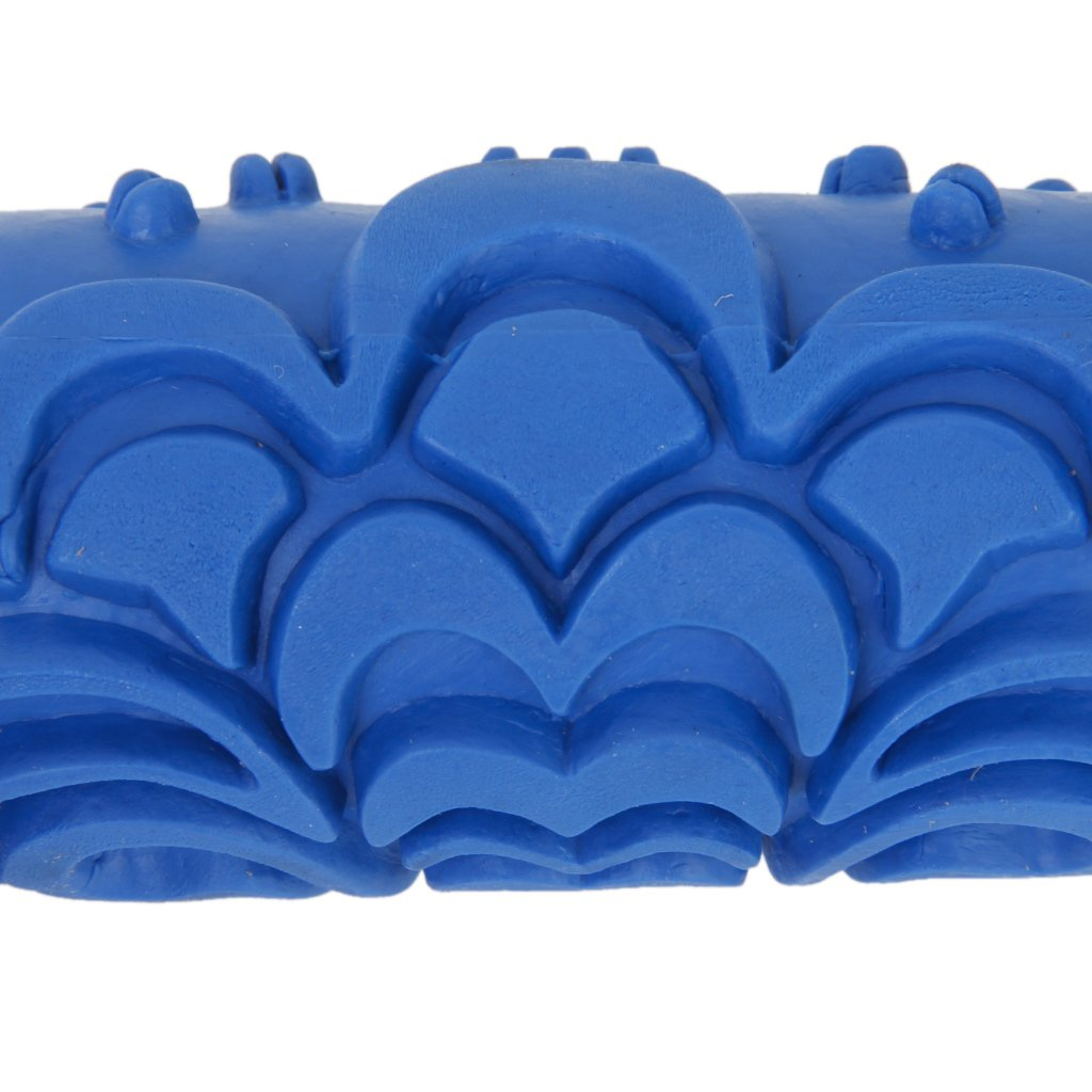 Rodillo de pintura 15 cm decoracion de nubes de pared for Pintura pared azul grisaceo