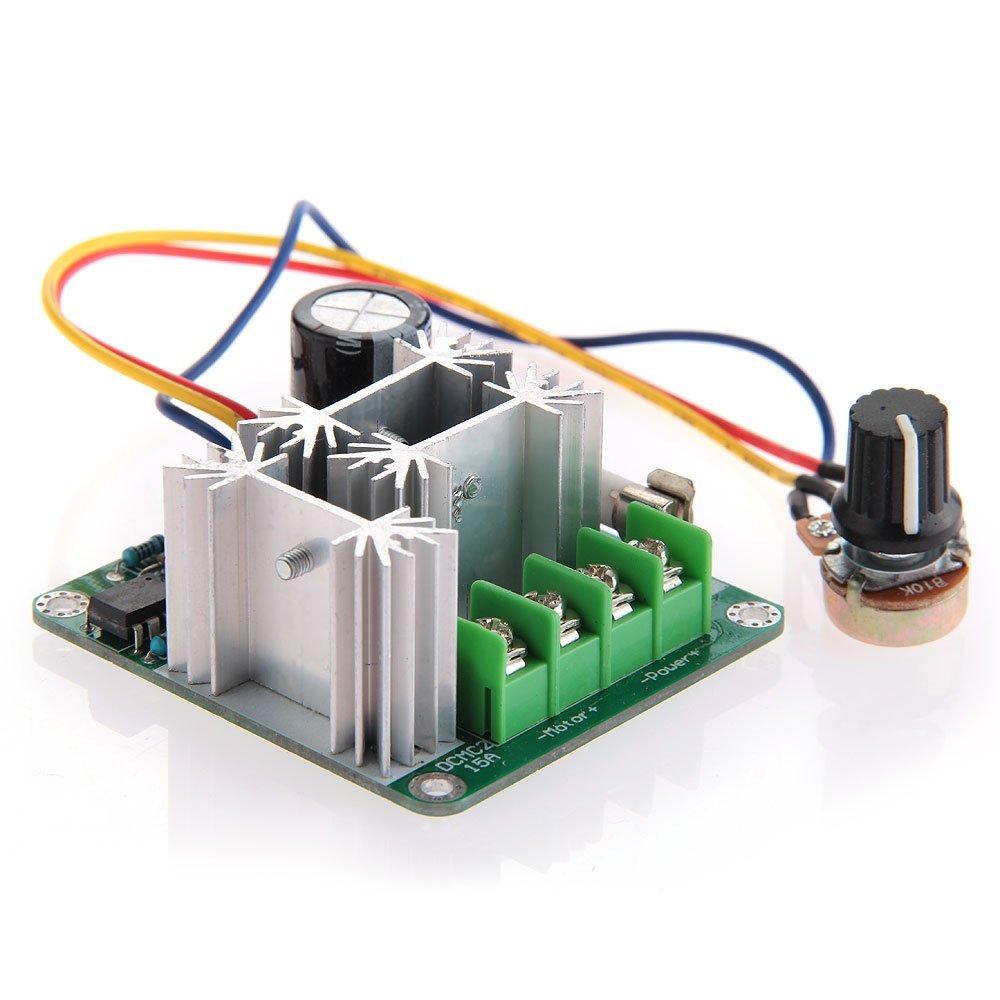 Pwm Speed Controller Speed Regulator Dc6v 90v 15a 0 5v Plc