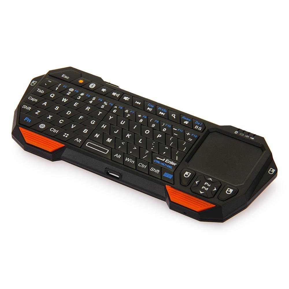 Mini Portable Wireless Bluetooth 3.0 Keyboard with Mouse ...