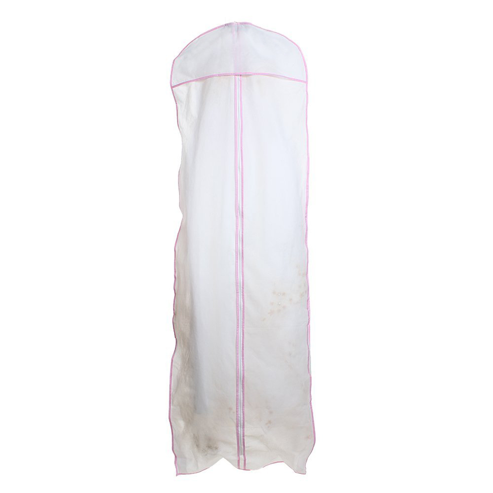 details about wedding evening gown garment storage cover bag protector