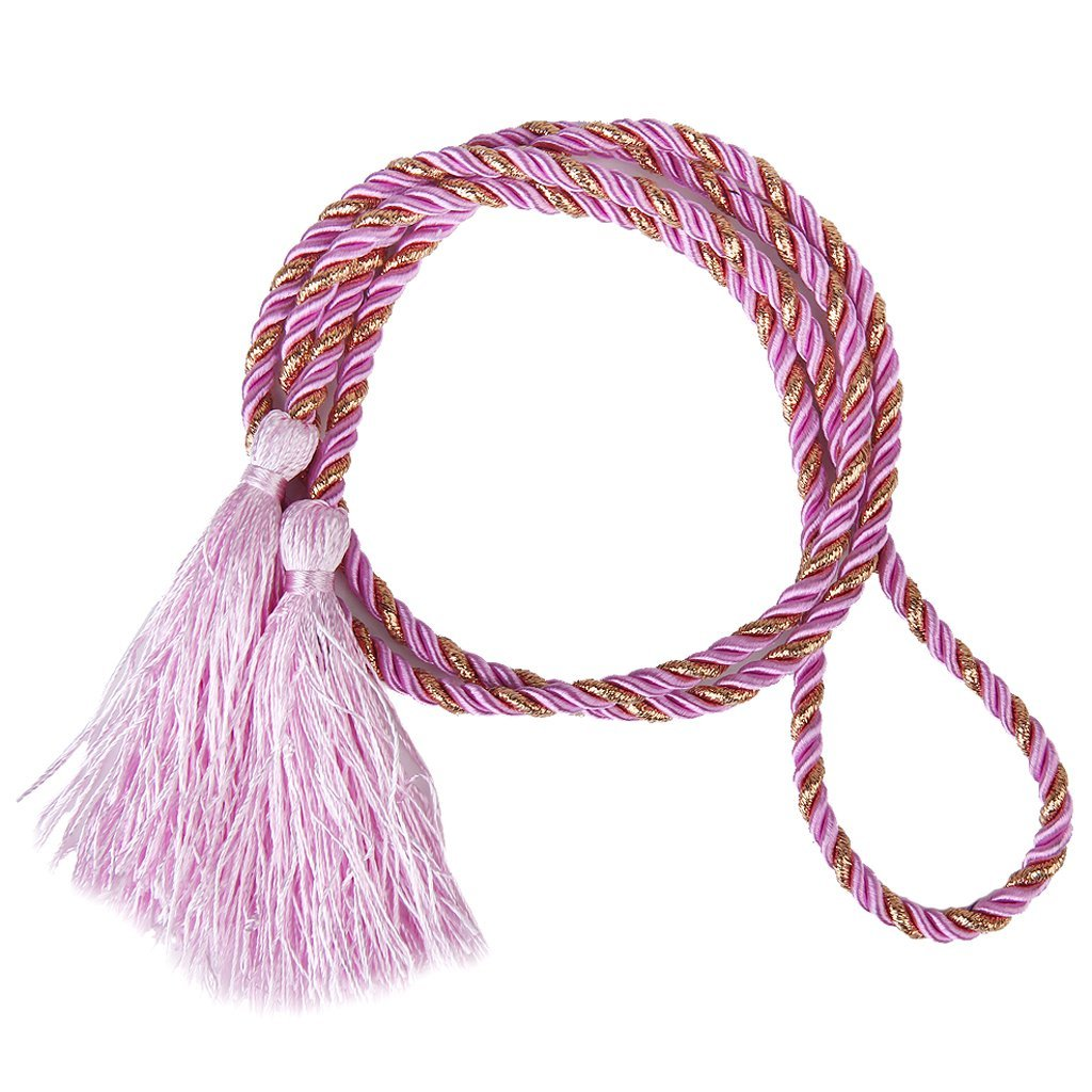 1pair Curtain Tiebacks Tie Backs Tassel Rope Living Room