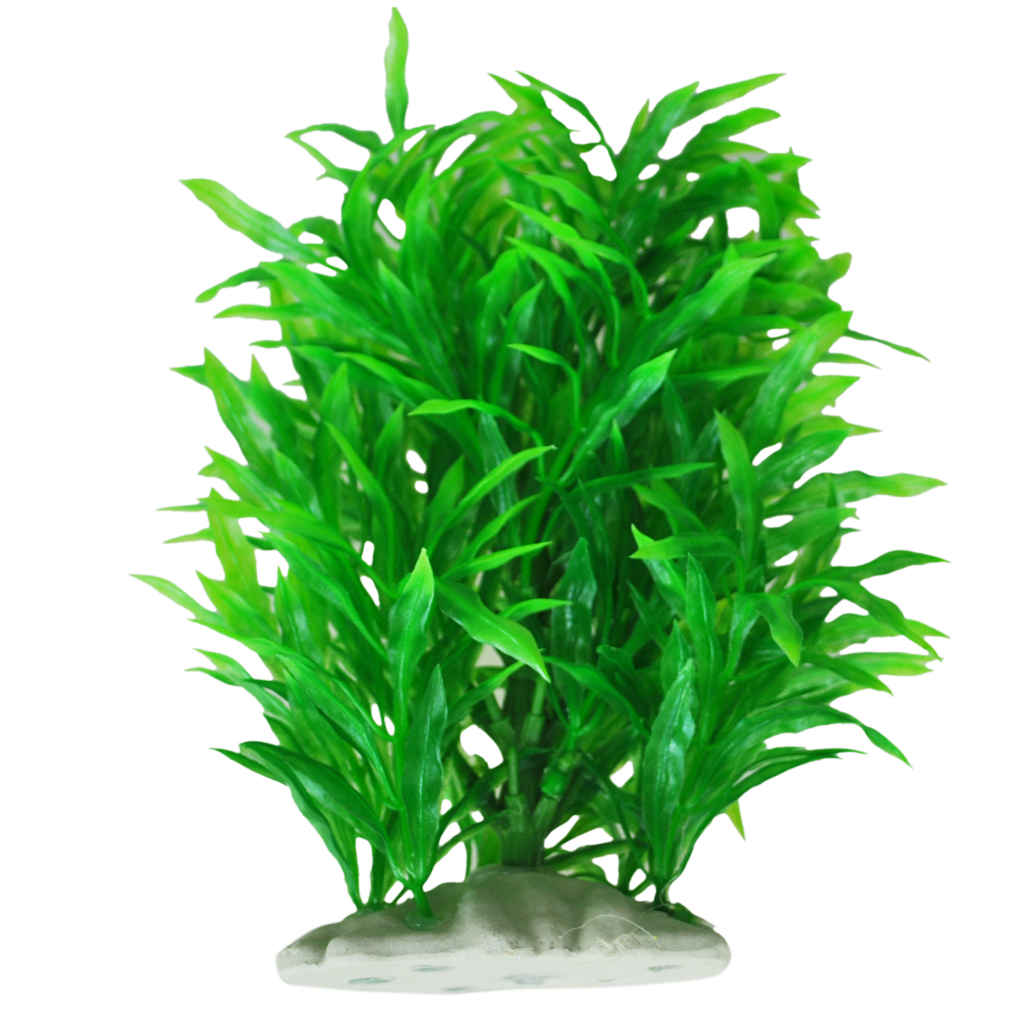 Artificial water plant decoration for fish tank green n for Artificial pond plants sale
