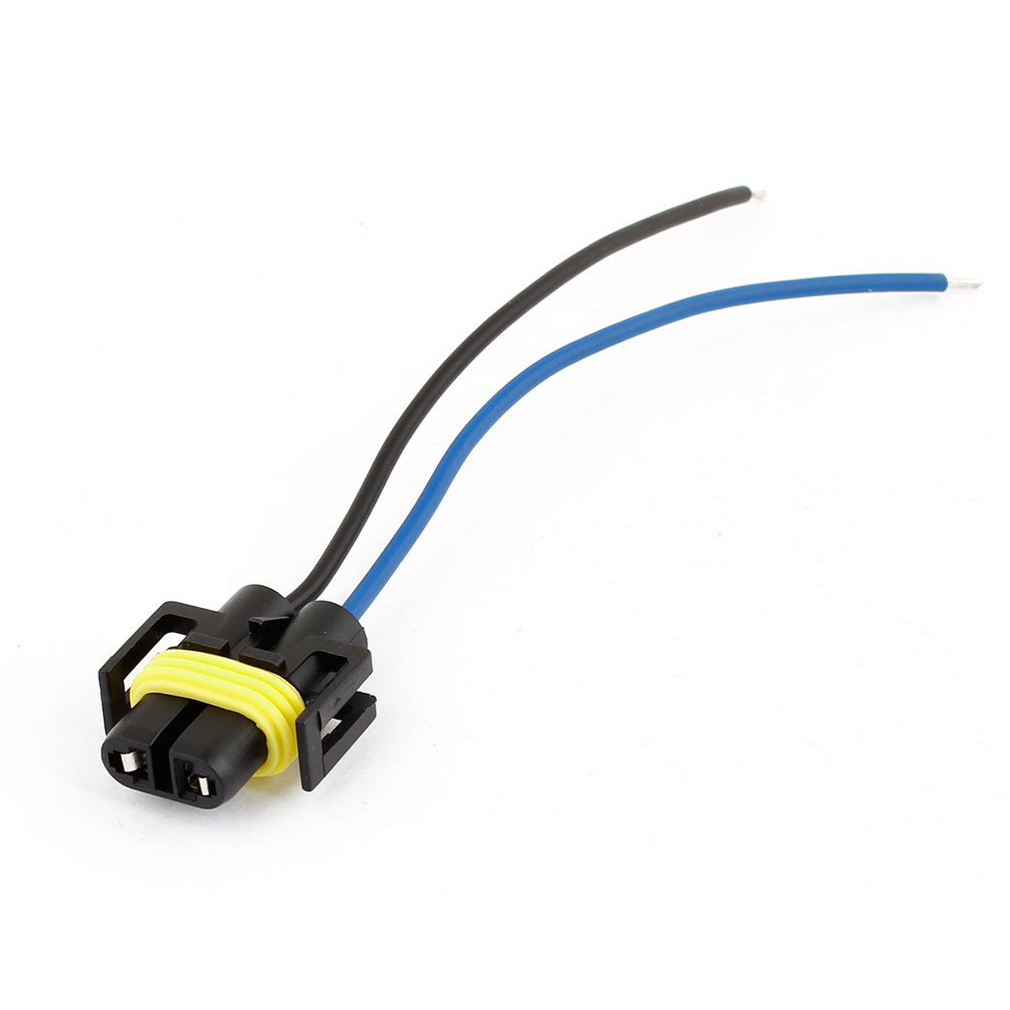 af auto car 2 wire headlight h11 socket harness plastic car wiring harness repair places near me car wiring harness repair connector