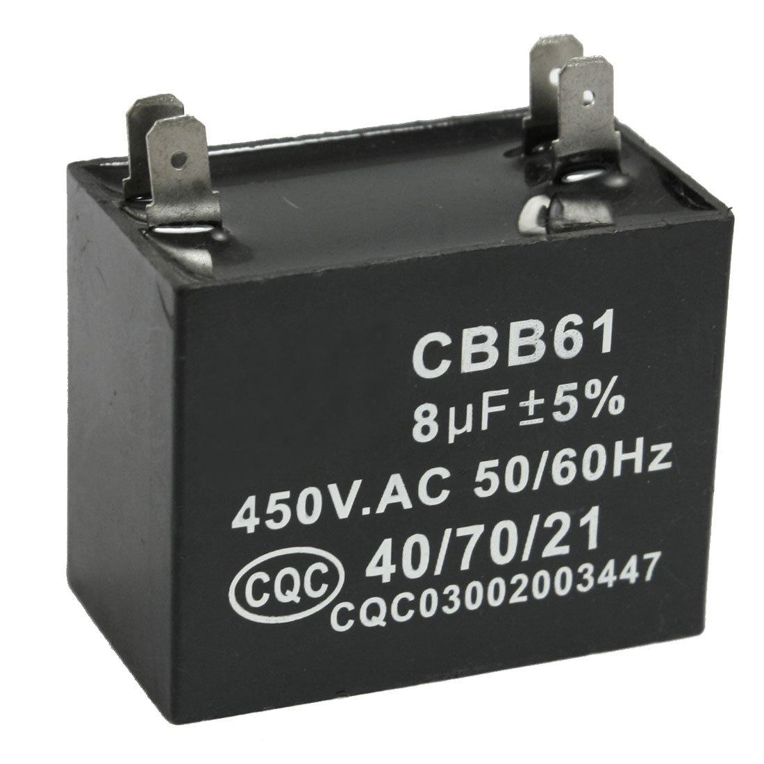 Cbb61 8uf 450v Ac 50 60hz Air Conditioner Fan Motor