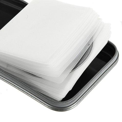 Rangement boite pochette etui range 40 cd dvd sac - Pochette range cd originale ...
