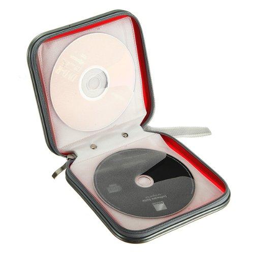 rangement boite pochette etui range 40 cd dvd sac sacoche. Black Bedroom Furniture Sets. Home Design Ideas