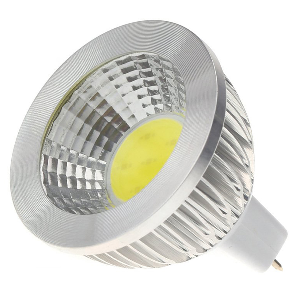 mr16 5w cob led spotlight energy saving high power lamp bulb 12v ac white cp ebay. Black Bedroom Furniture Sets. Home Design Ideas