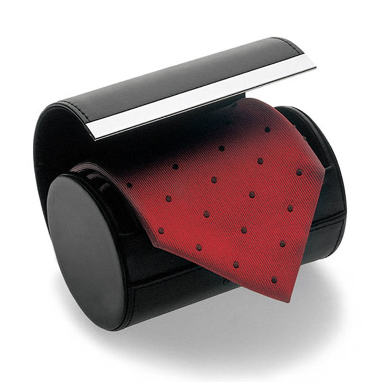 black necktie neck tie storage travel gift box