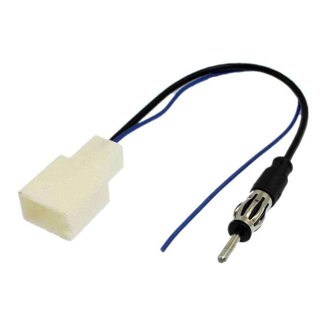13x o076 car antenna plug to fm radio stereo adapter. Black Bedroom Furniture Sets. Home Design Ideas