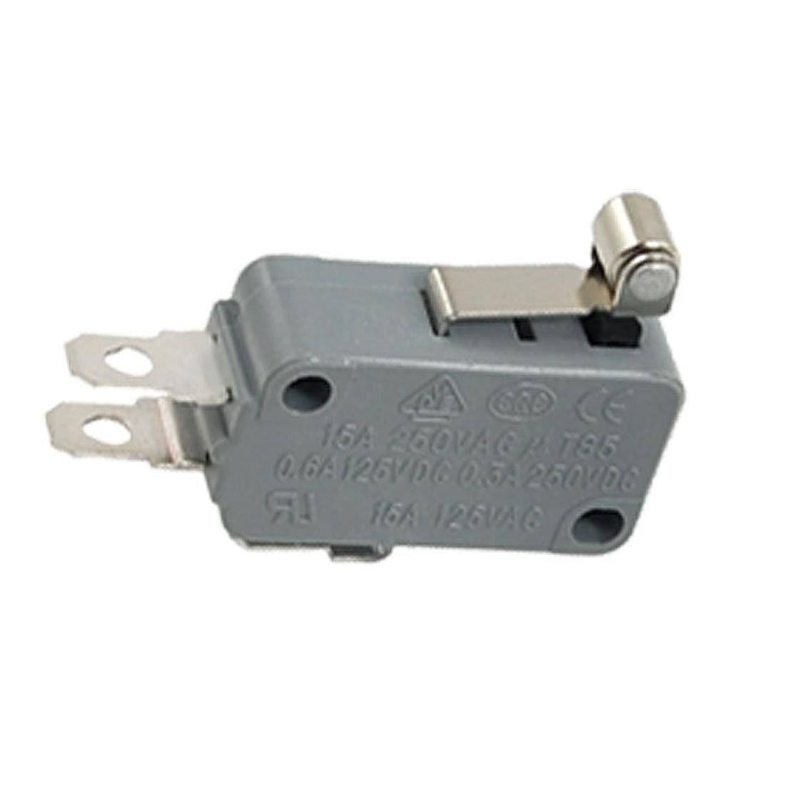 2 pcs roller short metal lever miniature micro switch b3. Black Bedroom Furniture Sets. Home Design Ideas