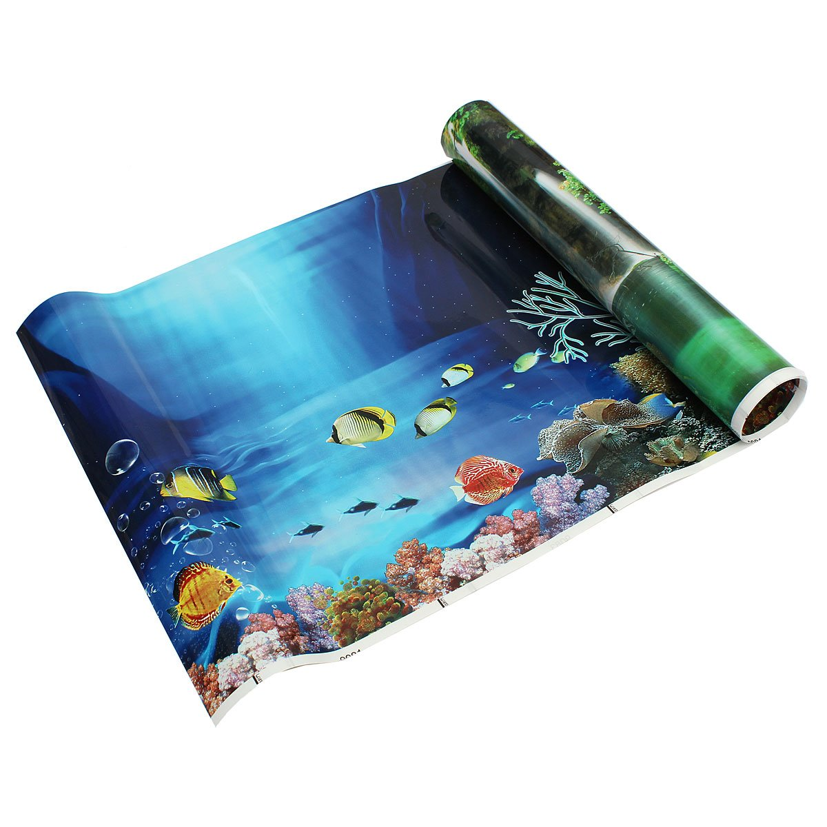 Background aquarium ocean landscape poster fish tank for Oceanic fish tanks