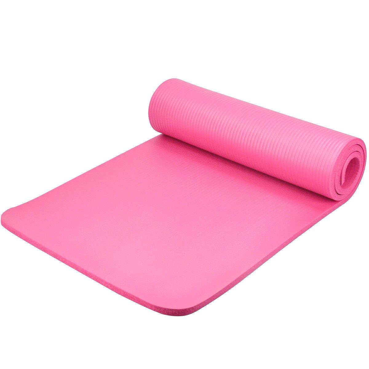 foam exercise yoga mat boxing fitness gym training pilates anti slip surface bt ebay. Black Bedroom Furniture Sets. Home Design Ideas