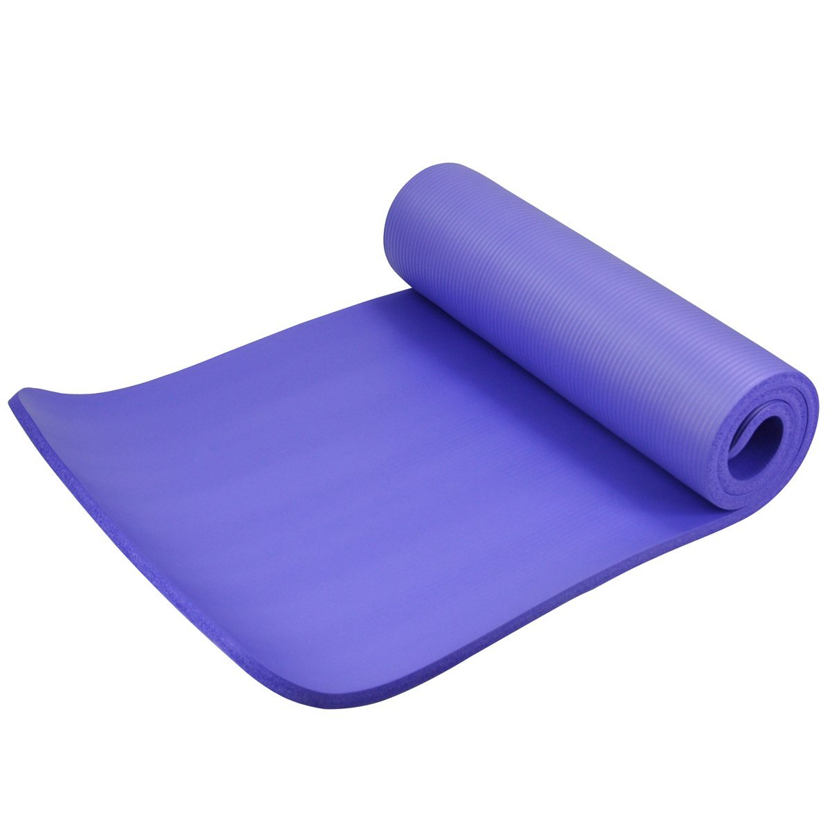 exercise yoga mat boxing fitness training pilates non slip surface purple b6x9. Black Bedroom Furniture Sets. Home Design Ideas
