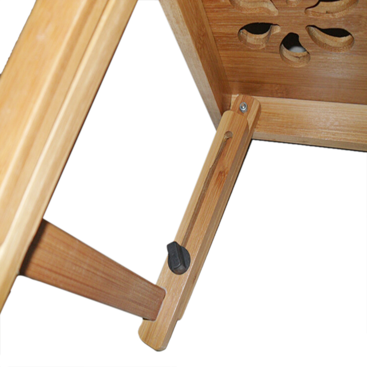 3x si blumen bambus beweglich faltend laptop notebook. Black Bedroom Furniture Sets. Home Design Ideas