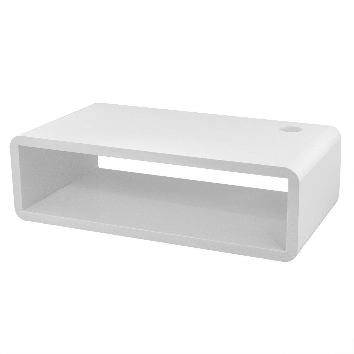 black white red floating wall mount shelf cube sky box dvd hifi unit shelf ebay. Black Bedroom Furniture Sets. Home Design Ideas