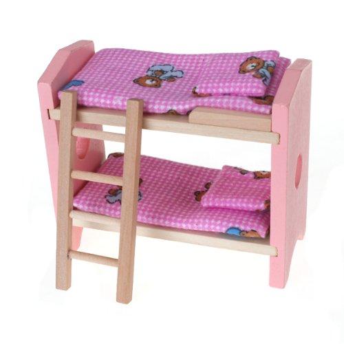 De habitacion mueble de madera para casa de munecas for Mueble juguetes