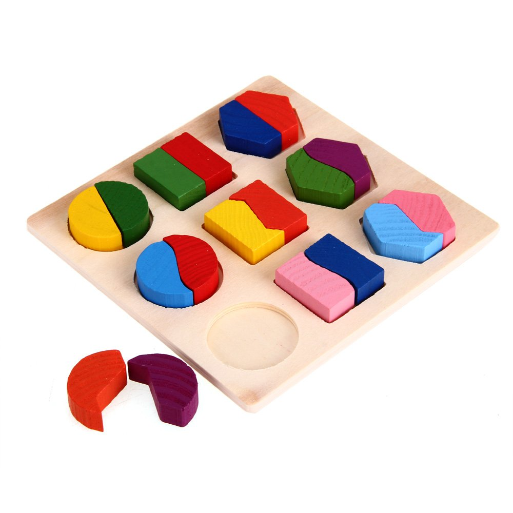 Educational Toys And Games : Wooden puzzle games educational toy for baby child pk ebay