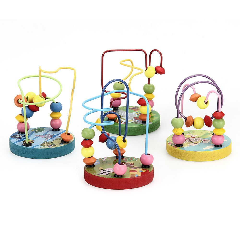 circuit de motricite en bois 12 boules jouet jeu pour bebe wt. Black Bedroom Furniture Sets. Home Design Ideas