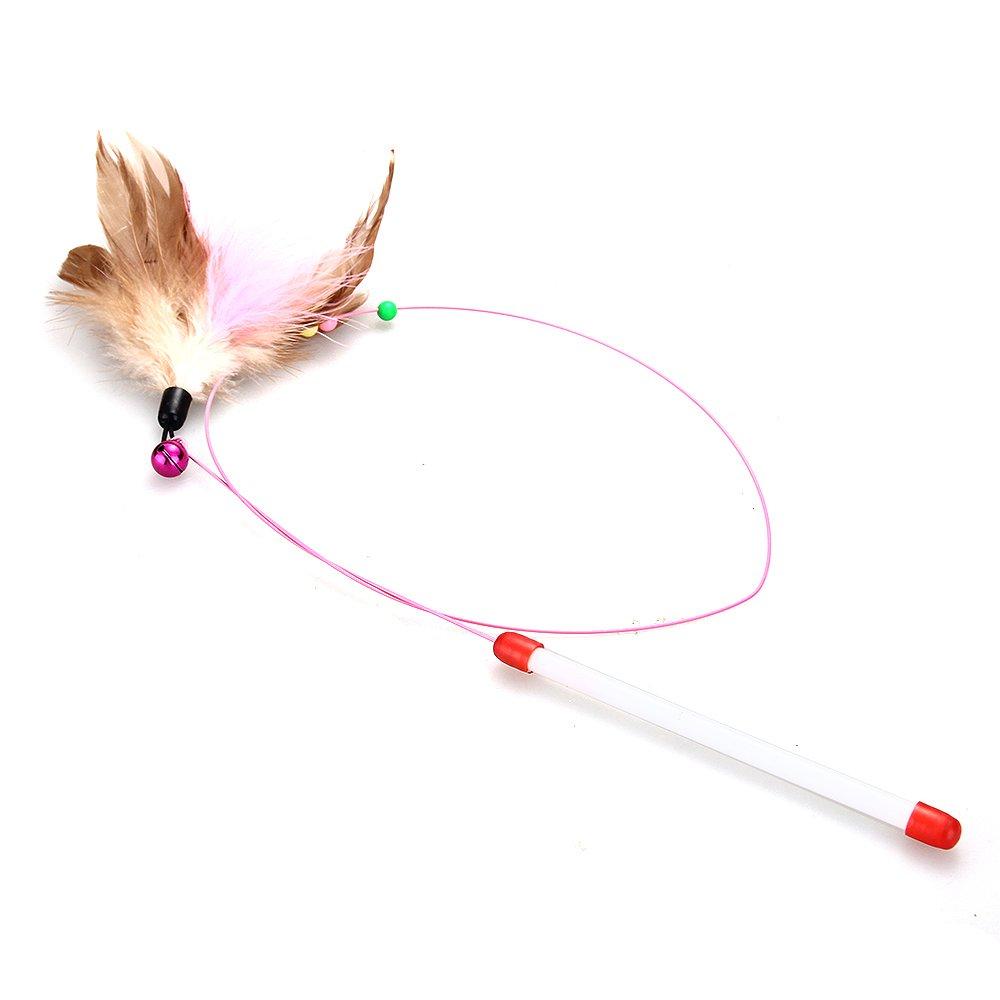 Baton Jeu a Colore Balle Jouet pour Chat Chaton Animaux 15.5cm WT 2