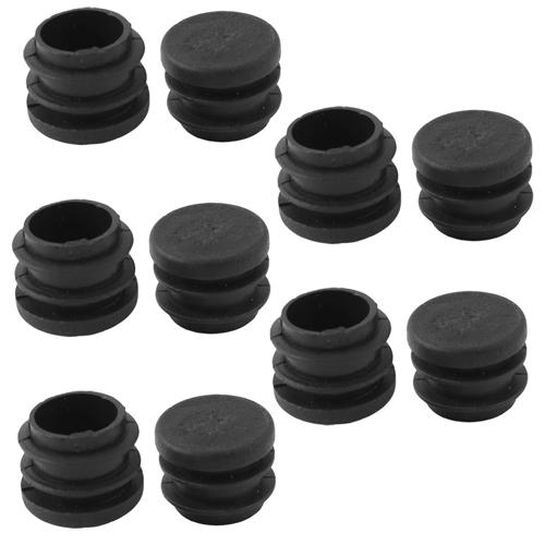 furniture 19mm diameter black plastic screw type cap cover. Black Bedroom Furniture Sets. Home Design Ideas