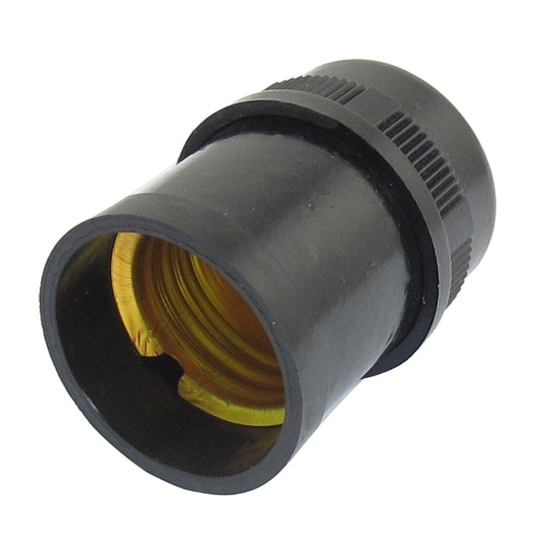 Douille e27 noir plastique goutte lumiere titulaire de la lampe ampoule wt - Douille plastique ampoule ...