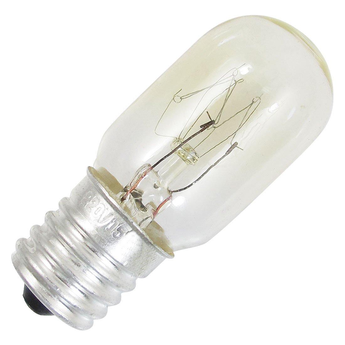 freezer fridge bulb e17 base warm white light lamp 220v. Black Bedroom Furniture Sets. Home Design Ideas