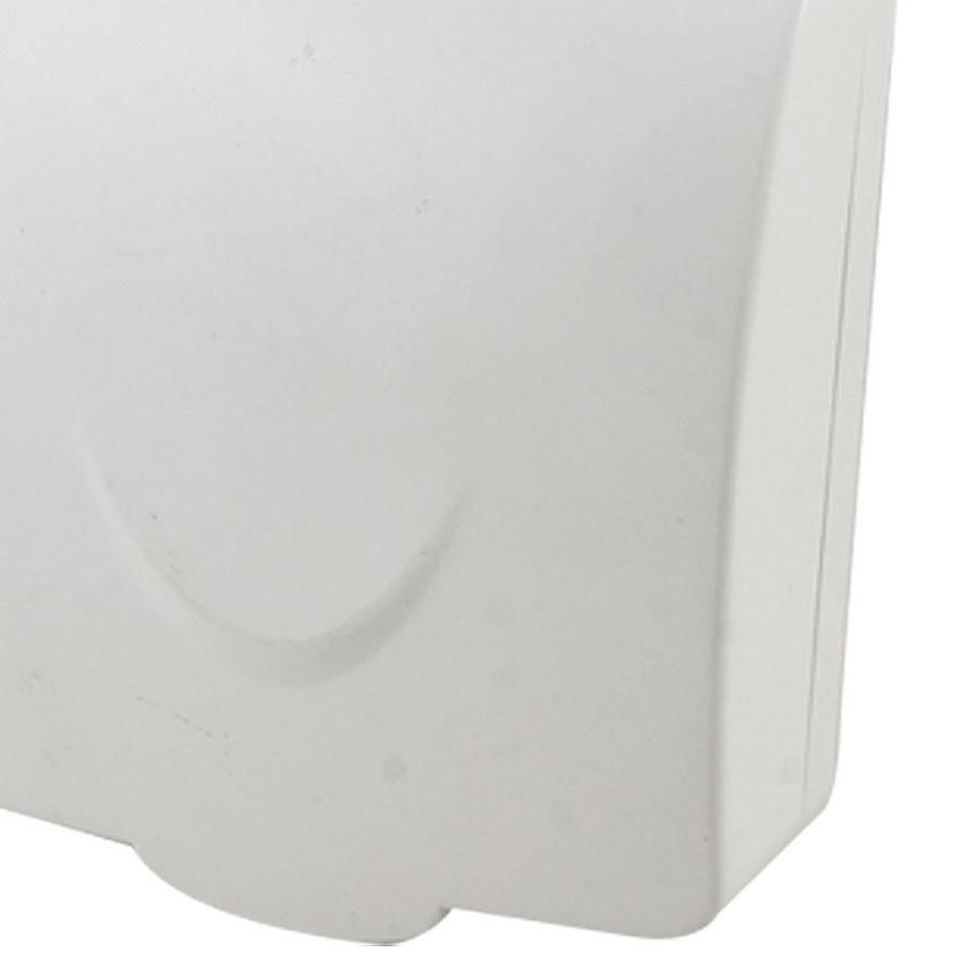 5x badezimmer wand schalter schutz abdeckung weiss plastik wasserdicht abdeckun ebay. Black Bedroom Furniture Sets. Home Design Ideas