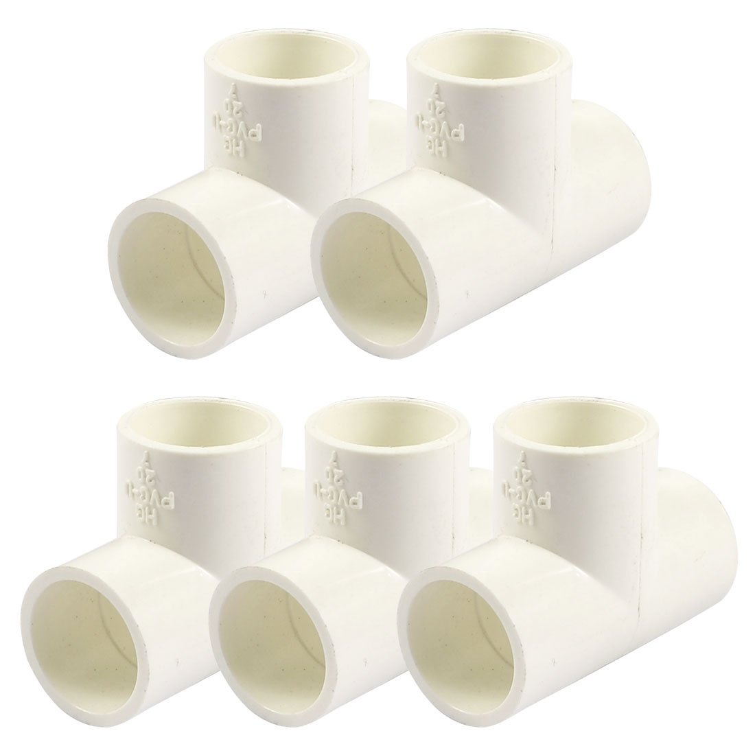 Mm pvc tee way water pipe tube adapter connectors